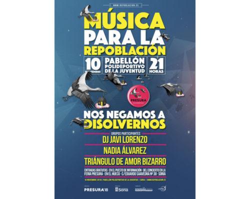 cartel concierto presura